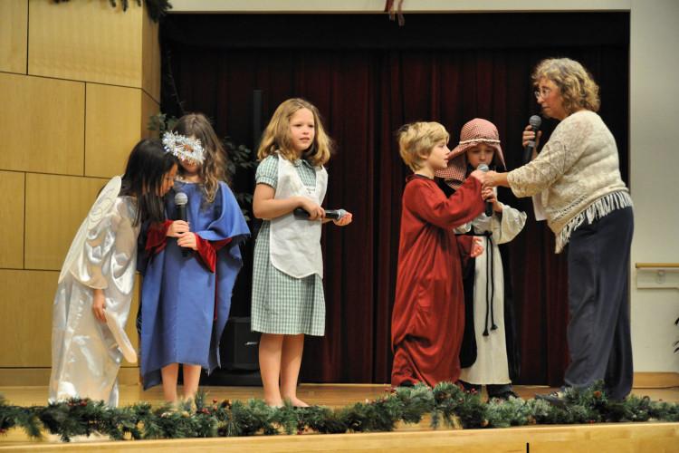Little Flock Sunday School Dress Rehearsal for Christmas Eve #38
