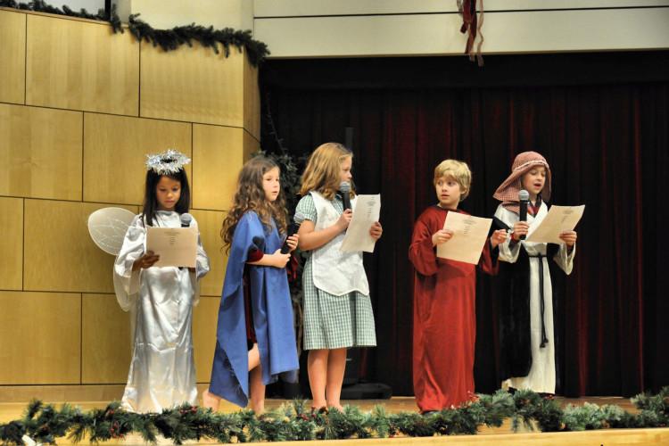 Little Flock Sunday School Dress Rehearsal for Christmas Eve #39